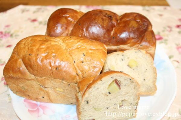 美味しいパン焼いたよー。_b0136683_935325.jpg
