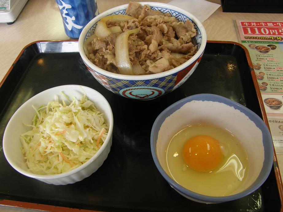 吉野家の牛丼   関目店_c0118393_784242.jpg