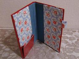 手帳ケース(スキバル)とレモンケーキ_f0214388_10454216.jpg