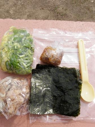 【コッヘルクッキング】海苔の味噌汁_d0122797_2362831.jpg