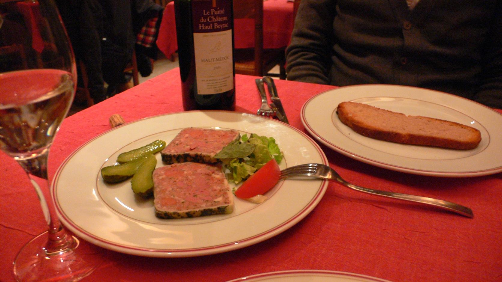 Paris 最後のご飯。_e0189465_1531484.jpg