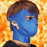 週刊少年ジャンプの裏広告。 けんじ_b0048882_1484260.jpg