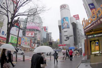 4月12日(月)今日の渋谷109前交差点_b0056983_1373975.jpg