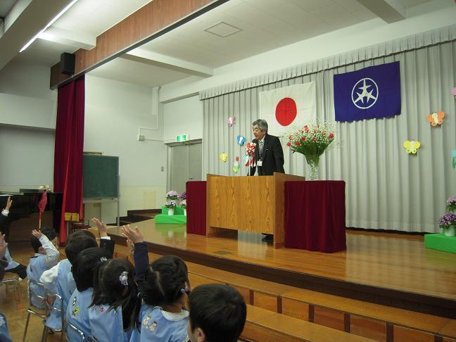 区立幼稚園 入園式_c0092197_23555614.jpg
