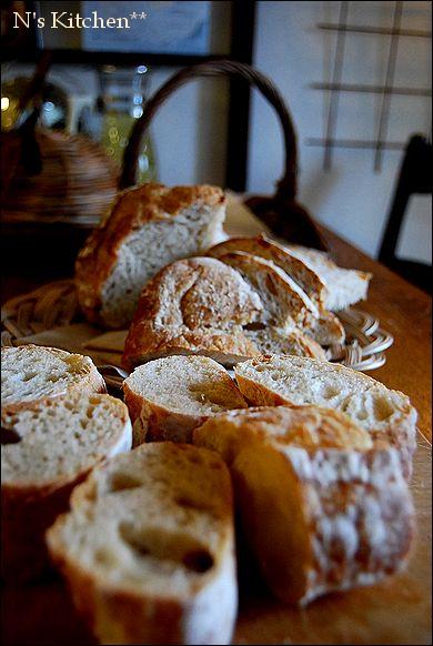 久しぶりにパンなど焼いておもてなし_a0105872_16343931.jpg