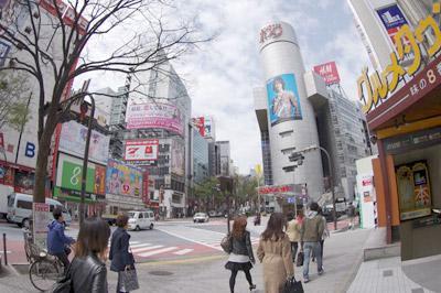 4月14日(水)今日の渋谷109前交差点_b0056983_11523520.jpg