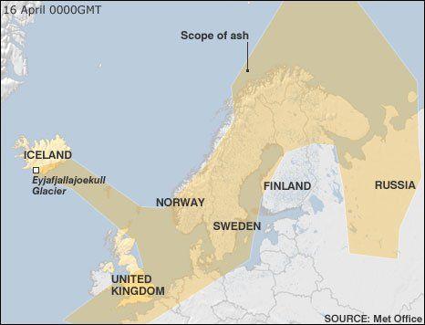 アイスランドの氷河火山噴火(写真)、ヨーロッパ航空便に大きな影響。空港閉鎖も_c0003620_21585937.jpg
