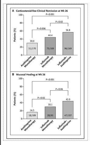 中等症・重症クローン病に対するinfliximab単独・アザチオプリン併用の有効性_a0007242_8502259.jpg
