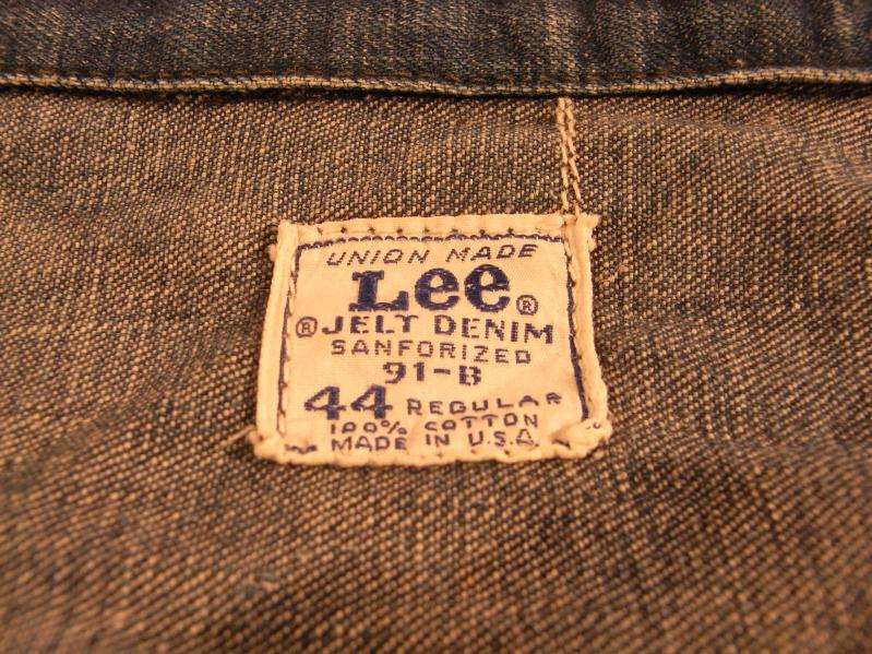 60s Lee 91-B DENIM JACKET --RECOMMEND--_c0176867_2159246.jpg
