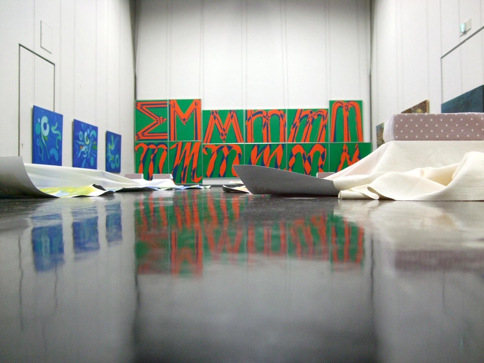 1268) ②市民ギャラリー 「'10 第37回 北海道抽象派作家協会展」 4月13日(火)~4月18日(日) _f0126829_17493825.jpg
