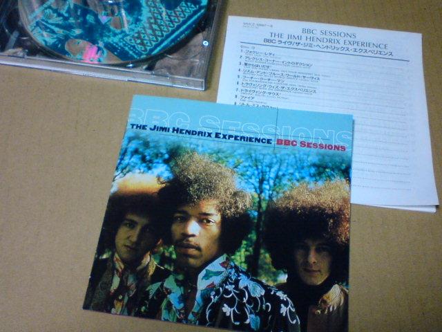 BBC SESSIONS / The Jimi Hendrix Experience_c0104445_2336875.jpg