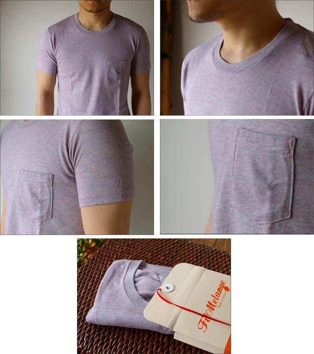 Filmelange[フィルメランジェ] SUNNY [サニー] ポケット無地Tシャツ  _f0051306_19135029.jpg