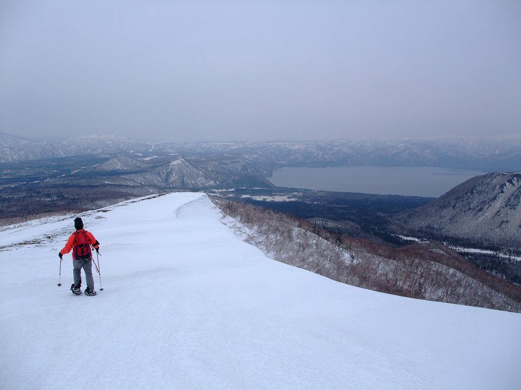 4月17日、樽前山と多峰古峰山をつなぐ_f0138096_20463130.jpg