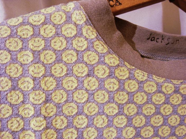 """JM  \""""SMILE Jacquard TEE\"""" & \""""Change Sleeve TEE\""""_f0191324_2254039.jpg"""
