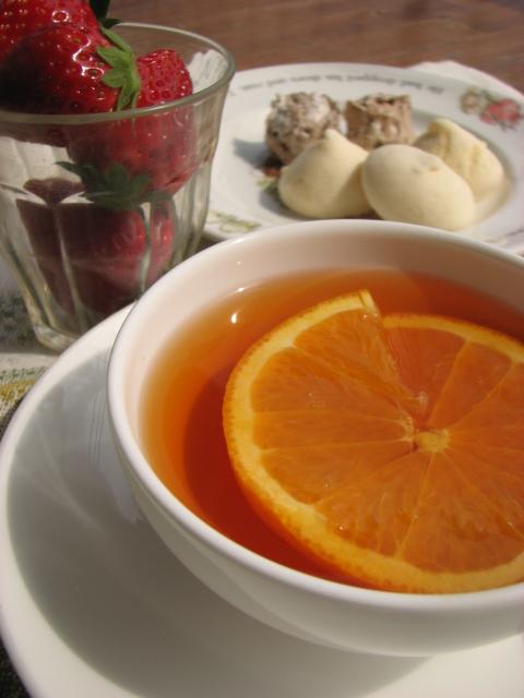 シャリマティー オレンジの香りの紅茶_b0158721_14462741.jpg