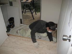 HOUSE1891-4/7洗濯機と冷蔵庫!廊下とかまち。&とも_e0142868_17263182.jpg