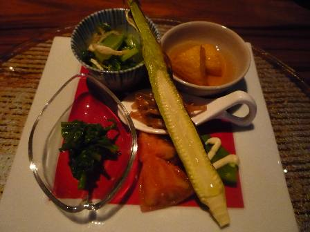 ミシュラン★が光る 「La BOMBANCE(ラ・ボンバンス)」でいただいた日本料理_a0138976_1637232.jpg