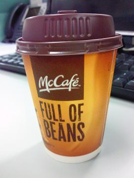 McCafe コーヒーサービス中_b0189489_919129.jpg