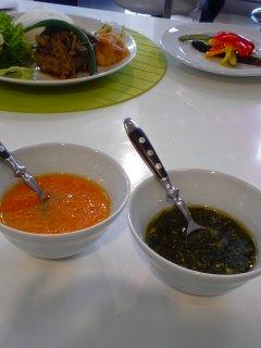 4月の東部ガスお料理教室・・・野菜で作る万能ソース。_f0177295_16122835.jpg