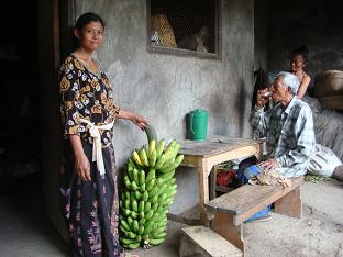 お隣さんから大きなバナナを買いました。_a0120328_16191386.jpg