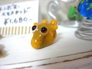 トンボ玉作家「kiraku」さん…新作「カエル&キリン」♪_e0125731_744411.jpg