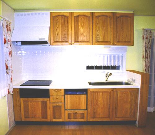 パッケージプラン システムキッチン パイン:L2550㎜_f0222049_2217149.jpg