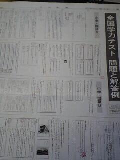 全国学力テスト~小学国語編~_f0220354_21242952.jpg