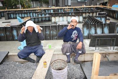 大間々町のO井様邸 地盤改良後 基礎工事が着々と進んでいます。_a0084859_9421750.jpg