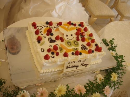結婚披露宴_a0077071_1912873.jpg