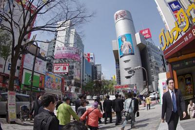 4月21日(水)今日の渋谷109前交差点_b0056983_114425.jpg