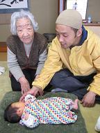 赤ちゃんのいる生活(パパが来た)_a0046305_1730580.jpg