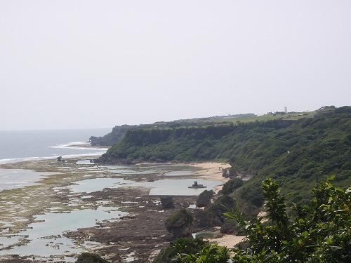 具志頭海岸の地質見学_c0180460_10132345.jpg