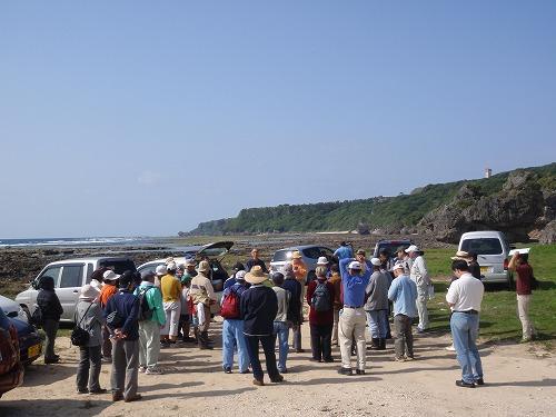 具志頭海岸の地質見学_c0180460_1033310.jpg
