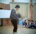 ヤギクラパーティーでジャグリング!_b0008475_10123162.jpg