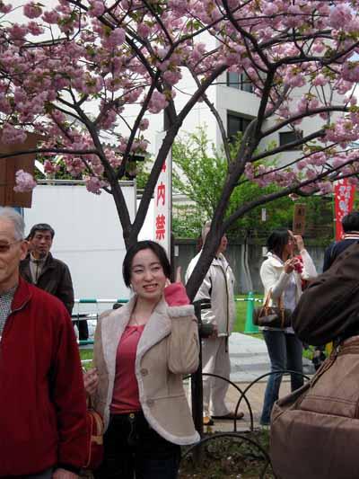 今年の「造幣局桜の通り抜け」♪_d0136282_19472022.jpg
