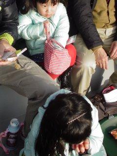 ポニョパンと・・・開成山球場、千葉ロッテVS楽天。_f0177295_1517418.jpg