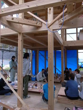 『Fさま邸上棟!』(廿日市市・ki-bako・先導的モデル事業)_b0131012_16565960.jpg