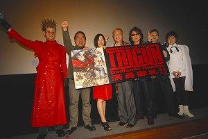 速報/劇場版「TRIGUN-Badlands Rumble-」舞台挨拶_e0025035_2352115.jpg