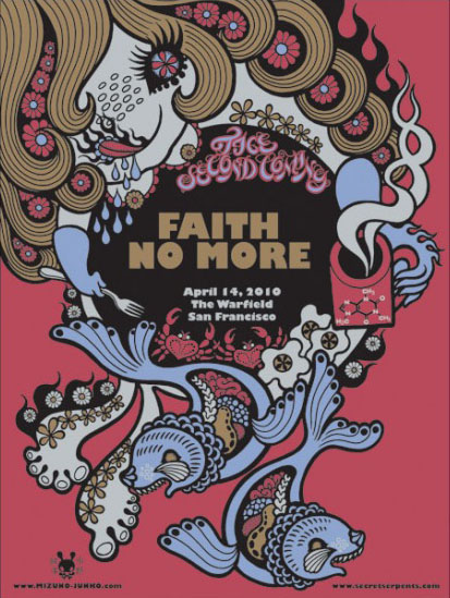 水野純子さんのFaith No Moreポスター、第2弾が入荷します。_a0077842_21271215.jpg