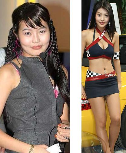 韓国の美人レースクィーン 衝撃の整形前後_f0158064_2251571.jpg