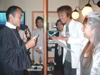 彦星と織姫の結婚式 _f0232060_1541114.jpg