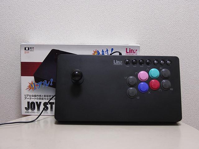 【レビュー】リンクスプロダクツ PS3用ジョイスティック_c0004568_22112176.jpg