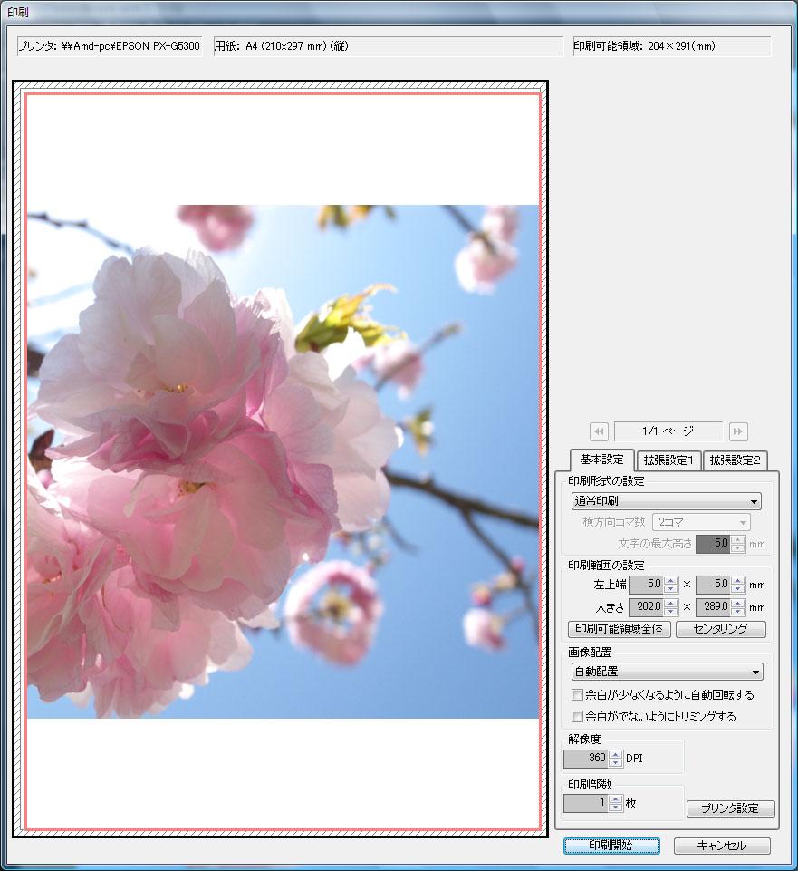 正方形トリミング画像のプリント設定_c0168669_18572344.jpg