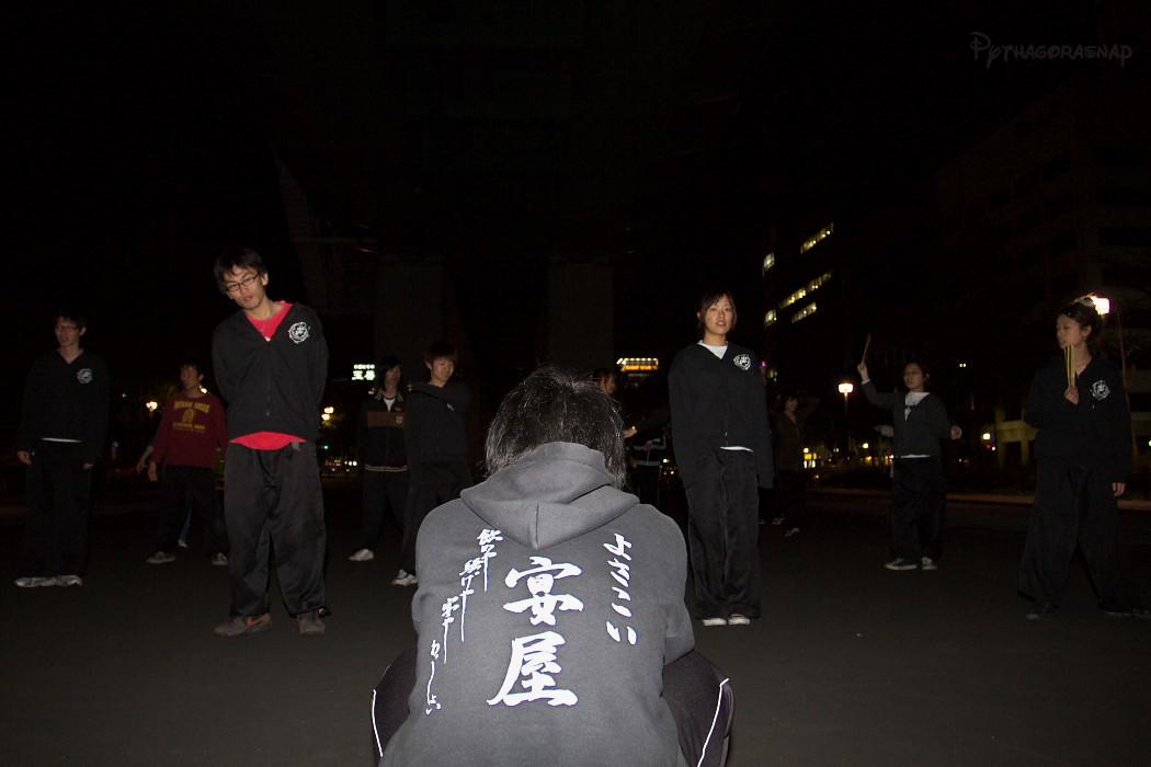 宴屋練習@若宮高架下。_c0187584_14215669.jpg