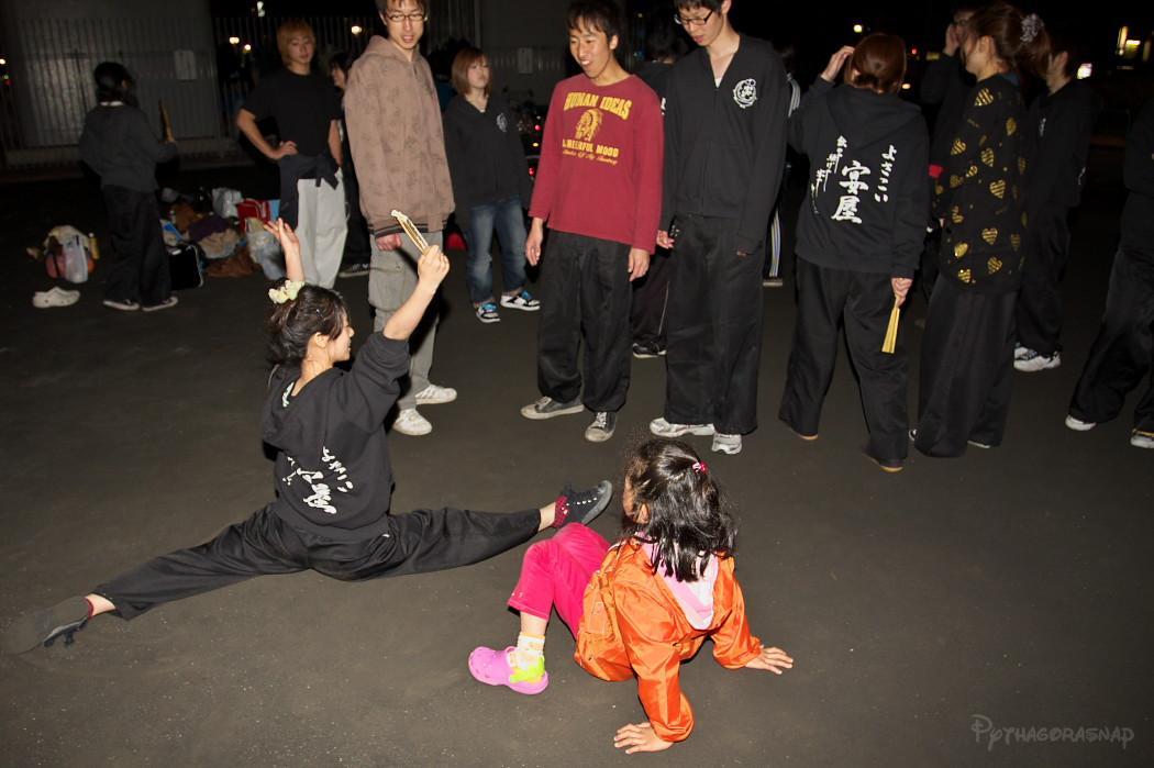 宴屋練習@若宮高架下。_c0187584_14433938.jpg