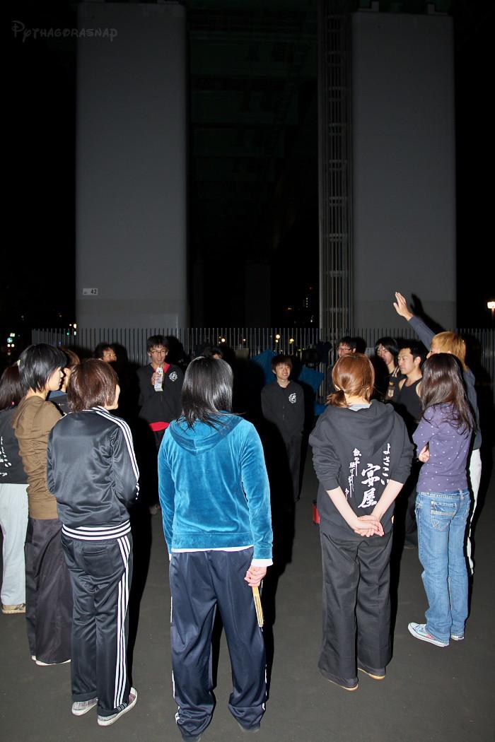 宴屋練習@若宮高架下。_c0187584_14571886.jpg