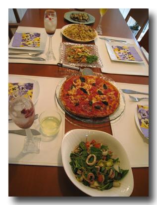 ピザパーティー!!!_d0064366_2091093.jpg