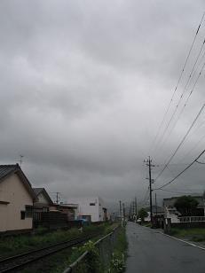 めまぐるしく変化した朝の天気。Nくんより祝酒_e0130185_136828.jpg