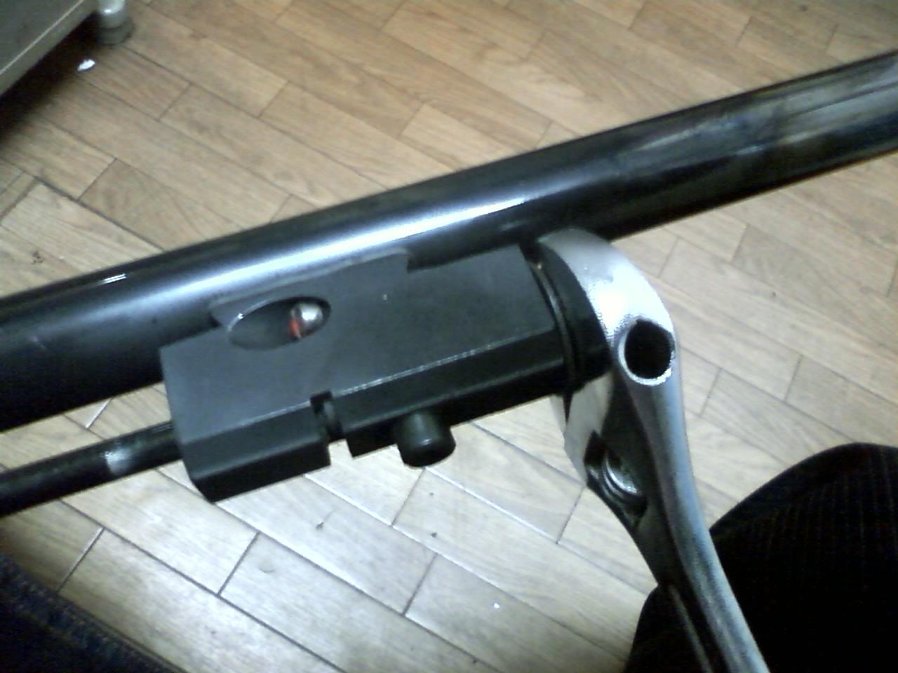 ブローニング オート ライフル(BAR)のメンテナンス_e0056797_18164459.jpg