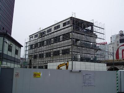 さよなら交通博物館 建物の解体状況(6)_f0030574_2223491.jpg